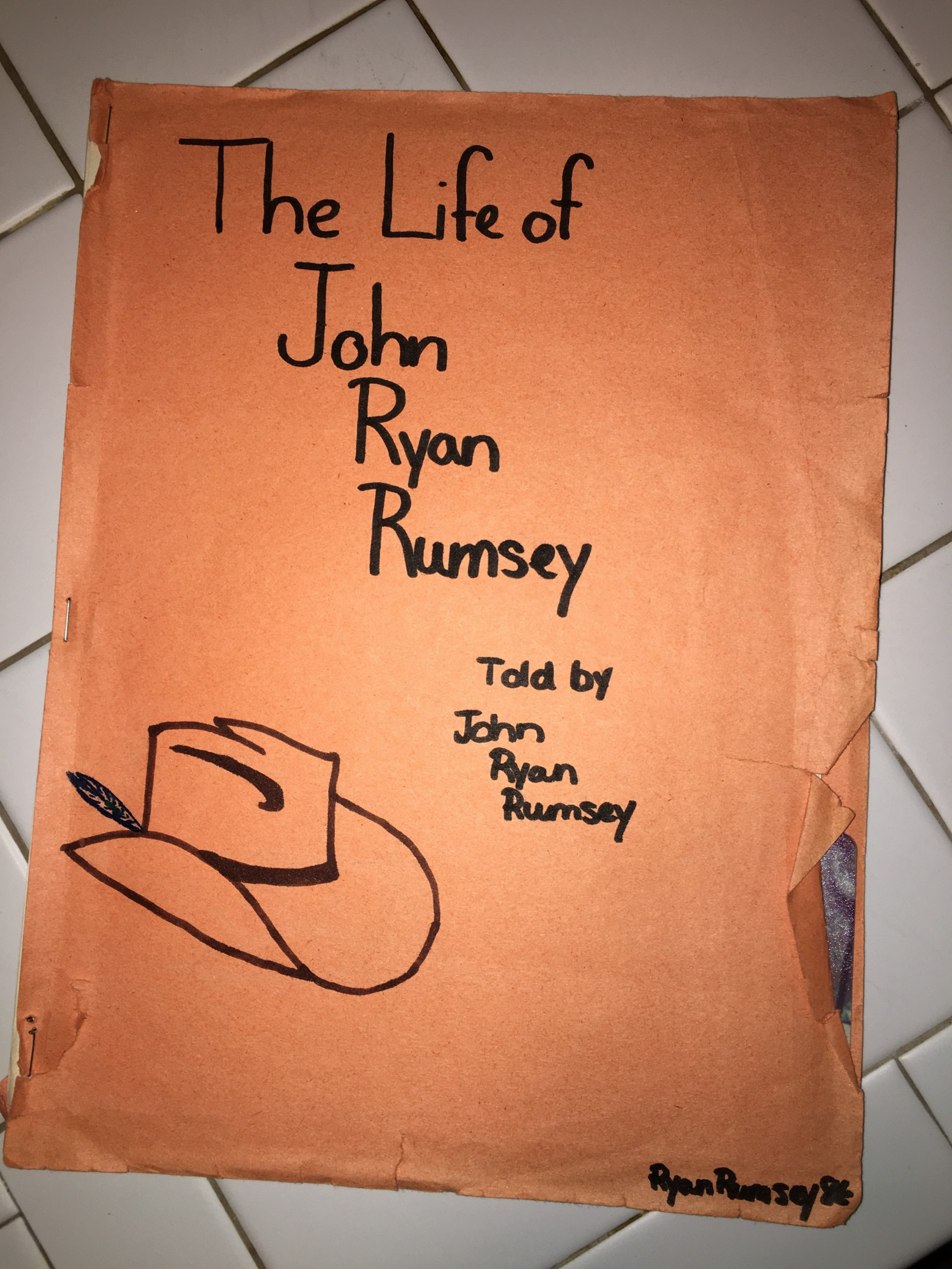 I wrote an autobiography in 1988 at age 14