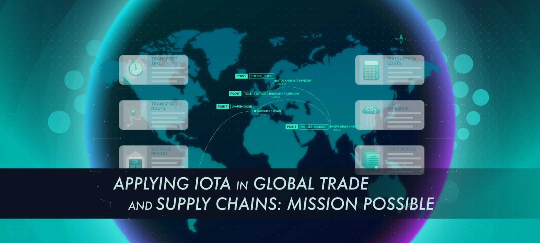 Applying IOTA in Global Trade and Supply Chains: Mission Possible