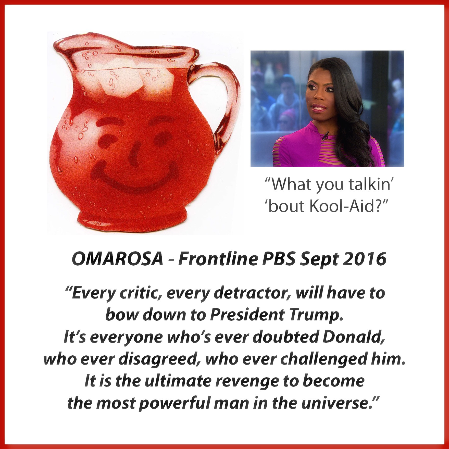 Trump Oracle Omarosa Joins Cast Of Trumpopolis - TrumpopolisTimes