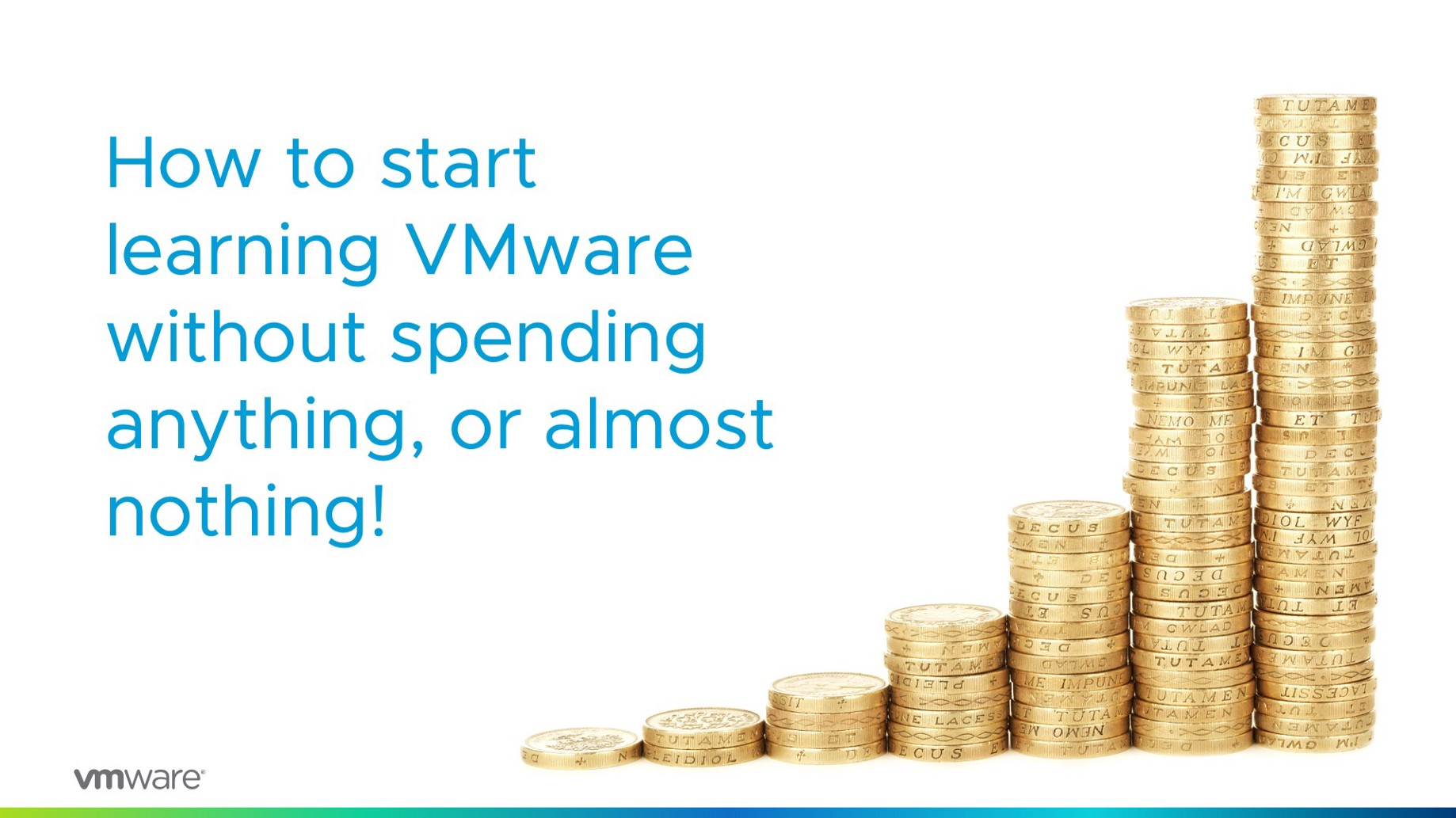 How to start learning VMware without spending anything, or