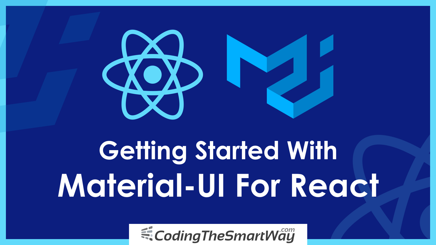 Getting Started With Material-UI For React (Material Design For React)