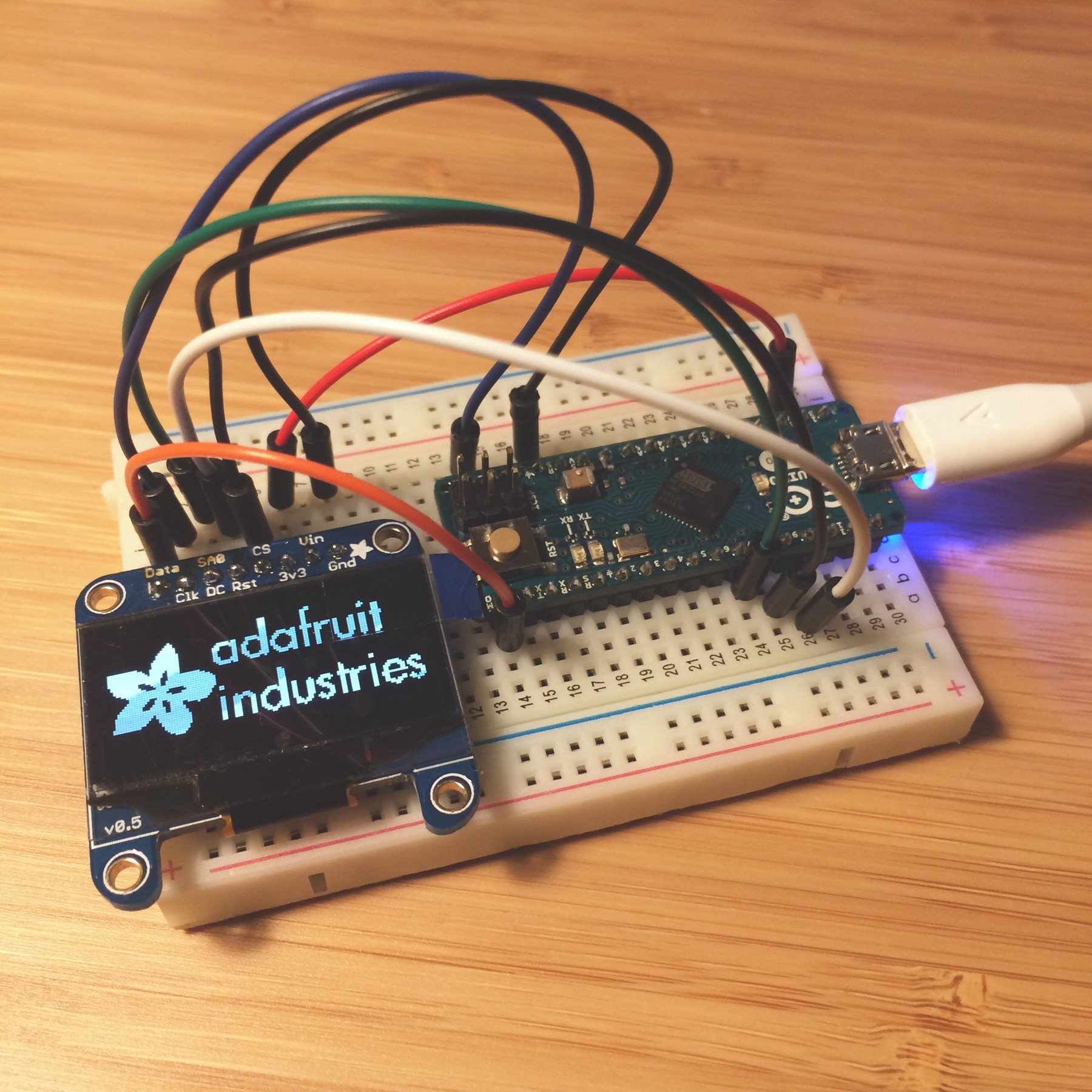 Setting up an OLED Screen with Arduino and SPI - Alice Wang - Medium