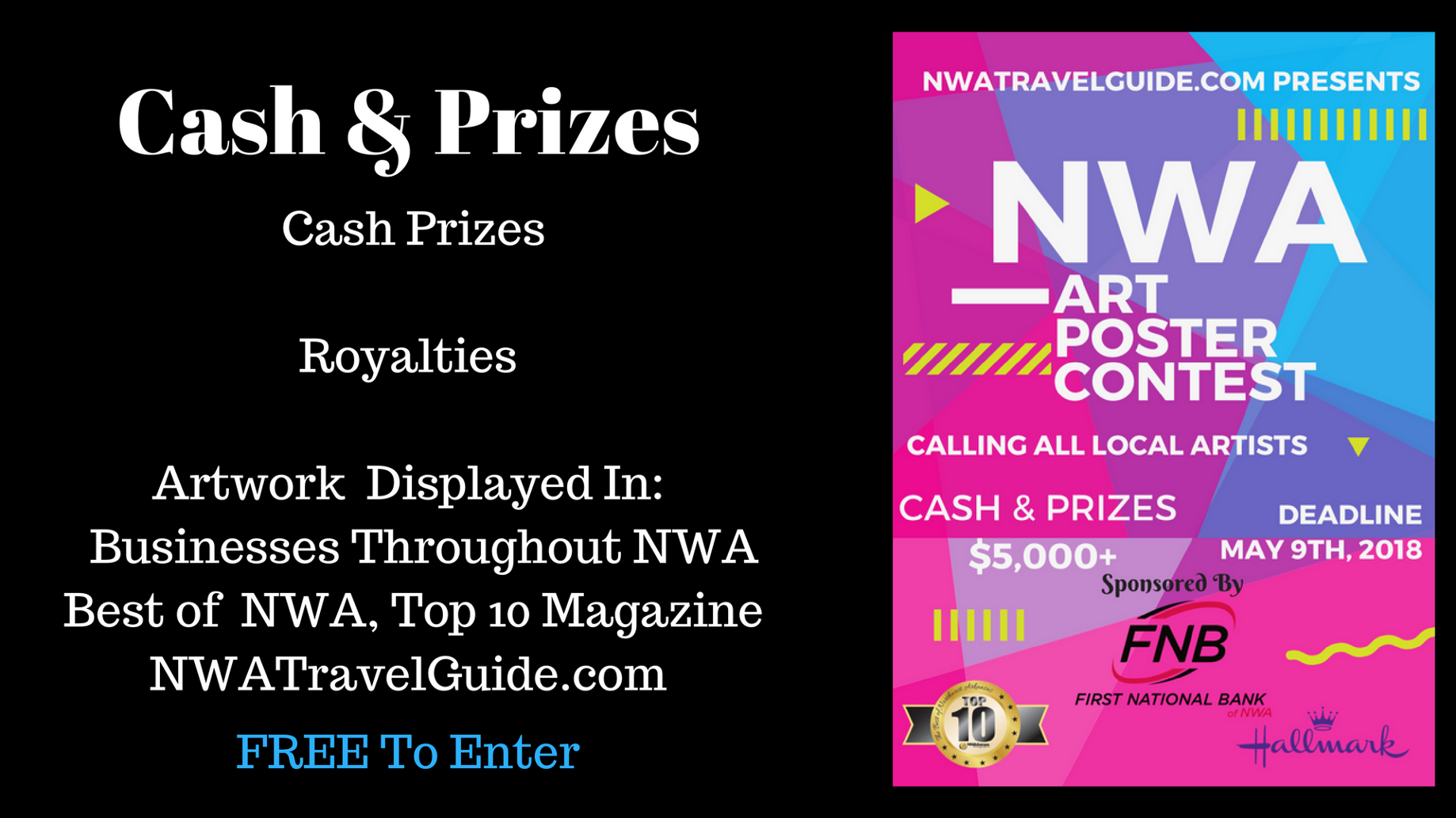 Wanted: Creative Artists for 2018 NWA Poster Contest