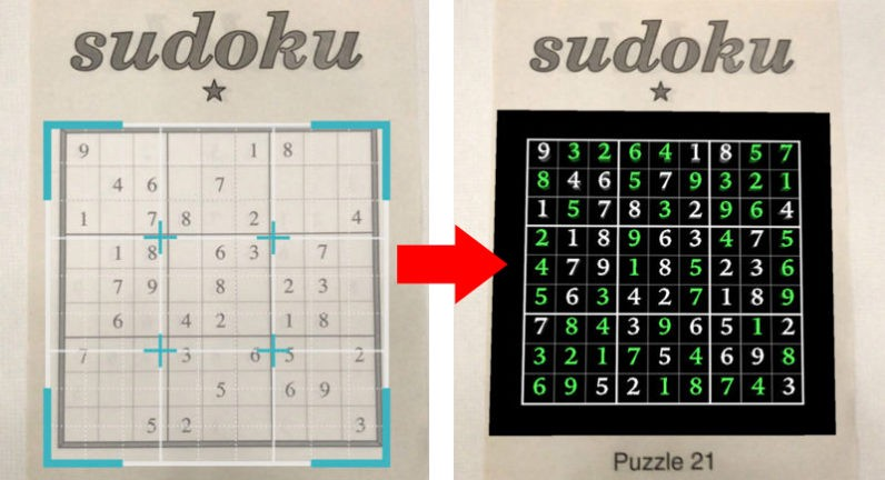 Why we built Magic Sudoku, the ARKit Sudoku Solver - Brad Dwyer - Medium