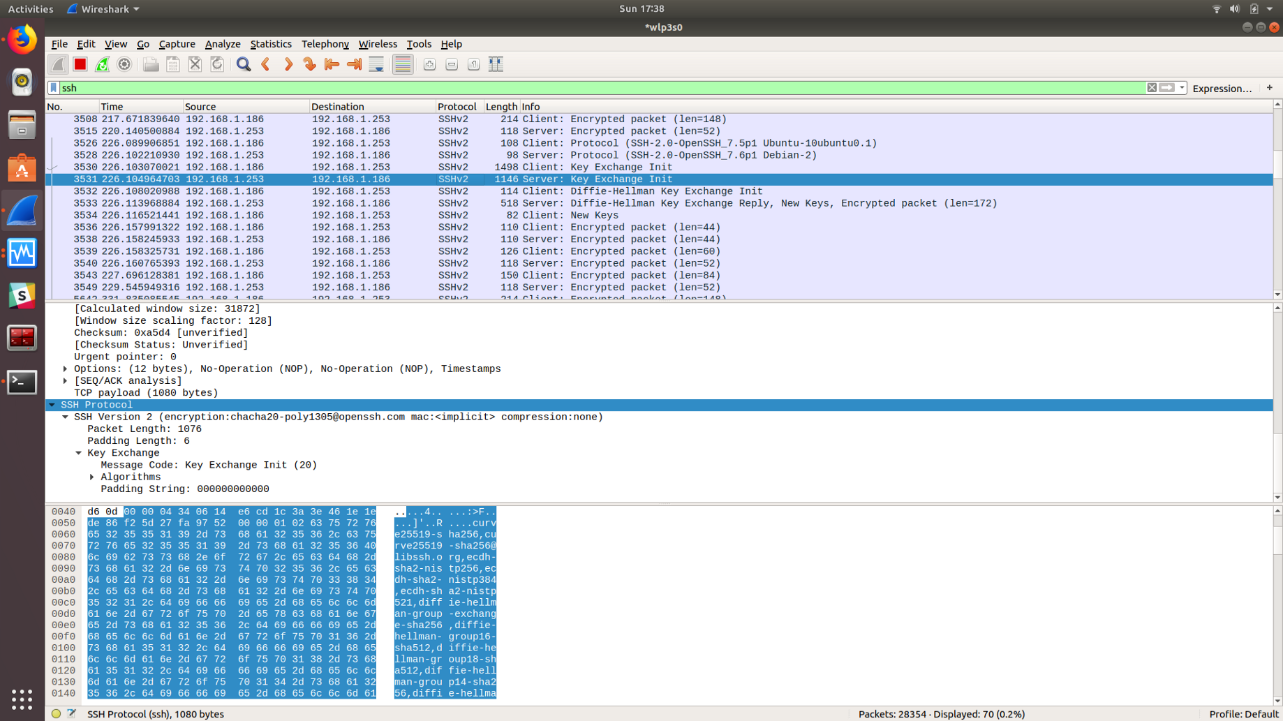 Analyzing Different Authentication Methods with Wireshark