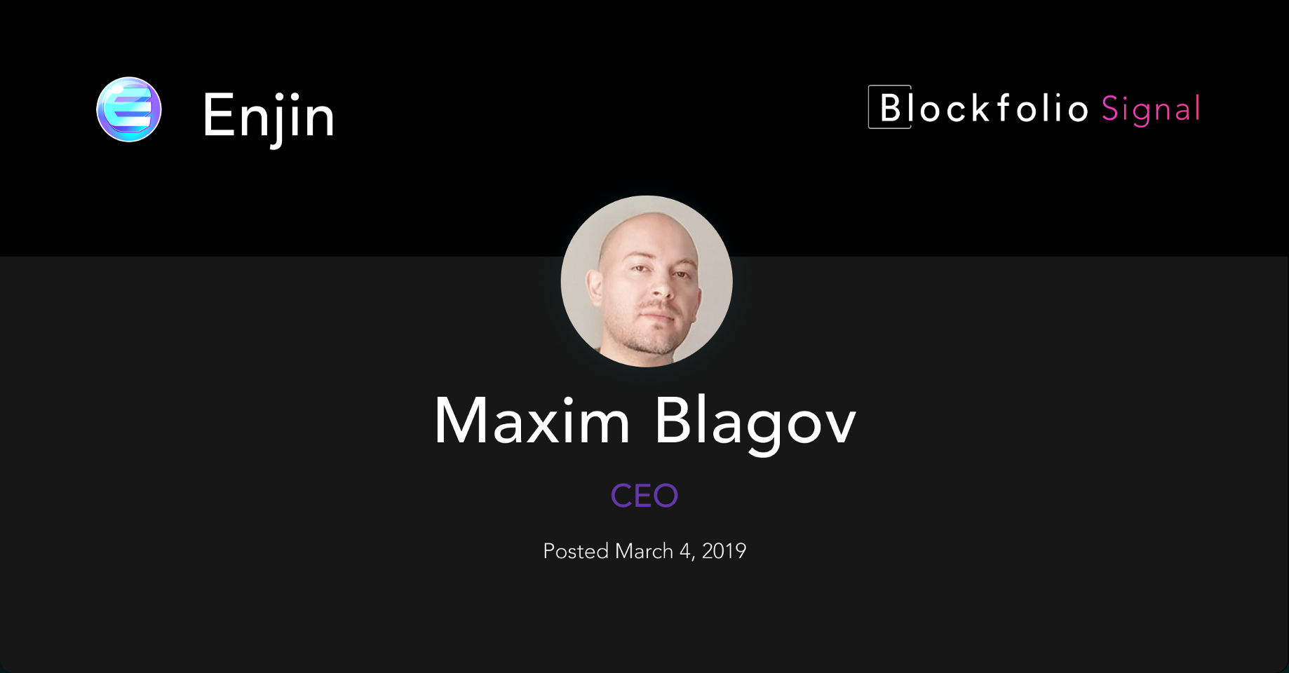 This Week in Blockfolio Signal — March 8th - Blockfolio Blog