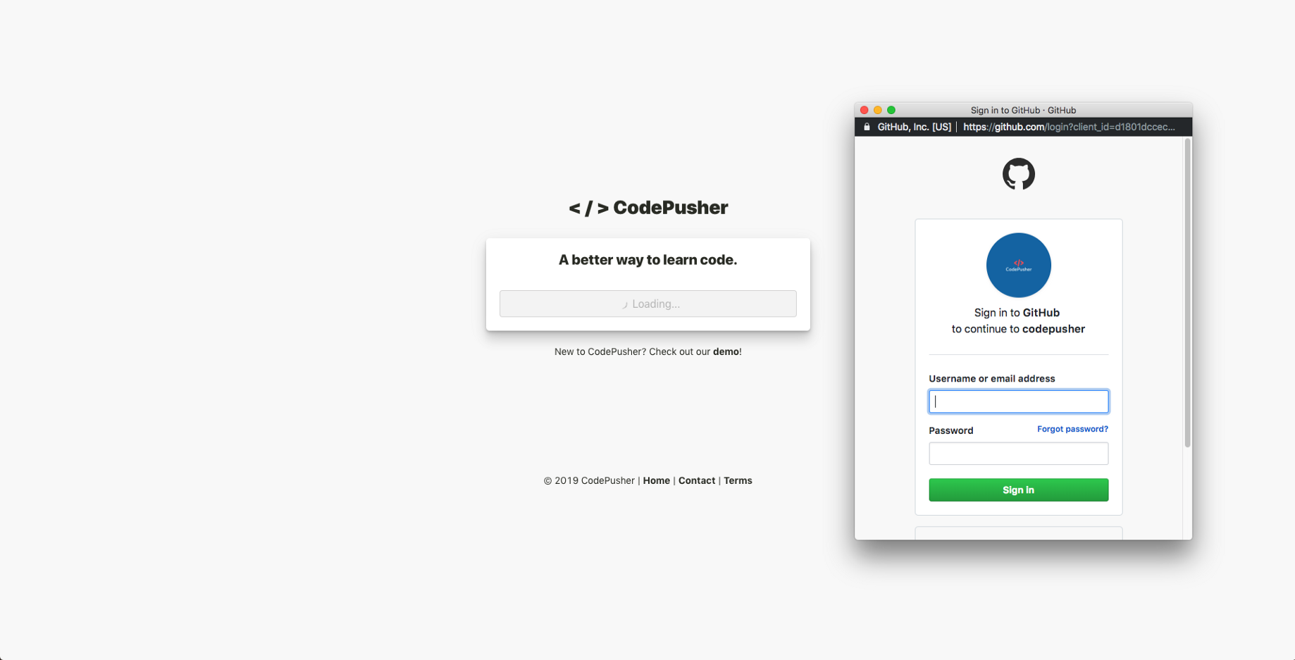 Adding a user authentication flow into a react frontend with firebase