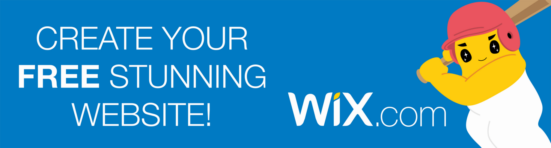 Why I chose to leave the Wix banner on my website, and why you might