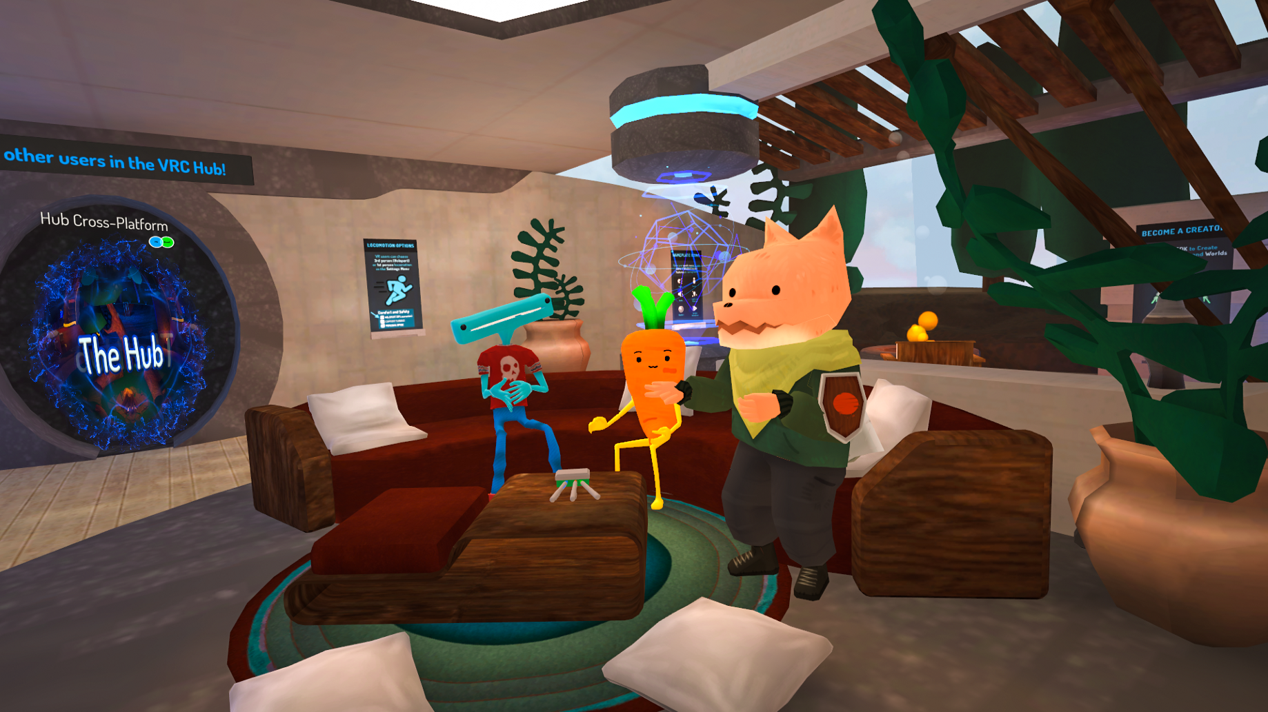 Welcome to your new Home (and Hub) - VRChat - Medium