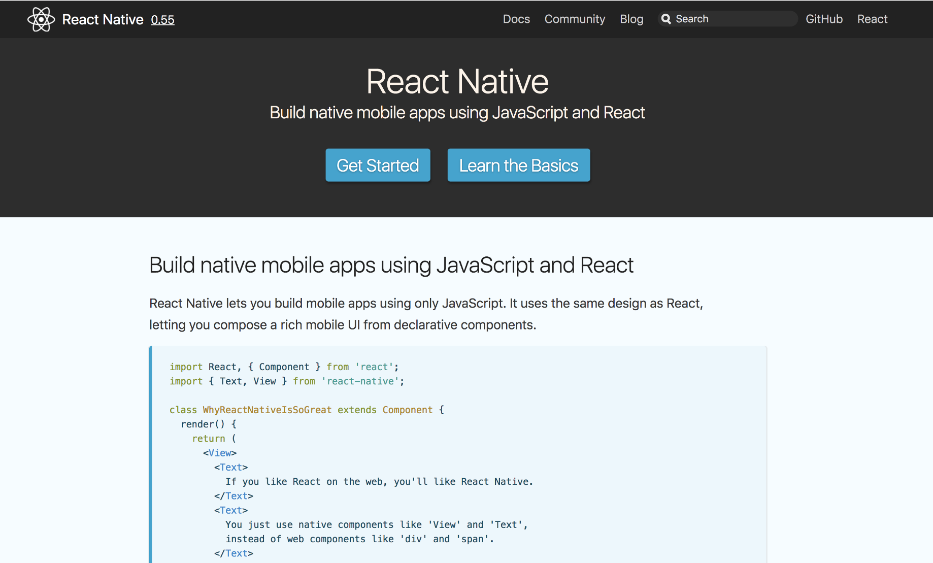 First steps with React Native - Jamis Charles - Medium