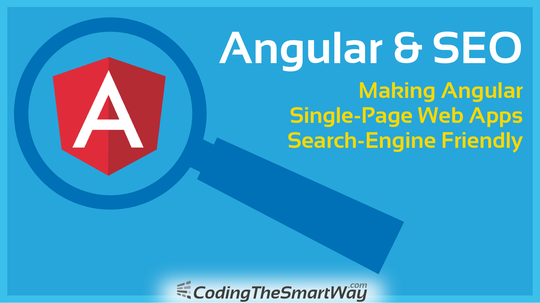Are Search Engines Making Students >> Angular Seo Making Angular 6 Single Page Web Apps Search Engine