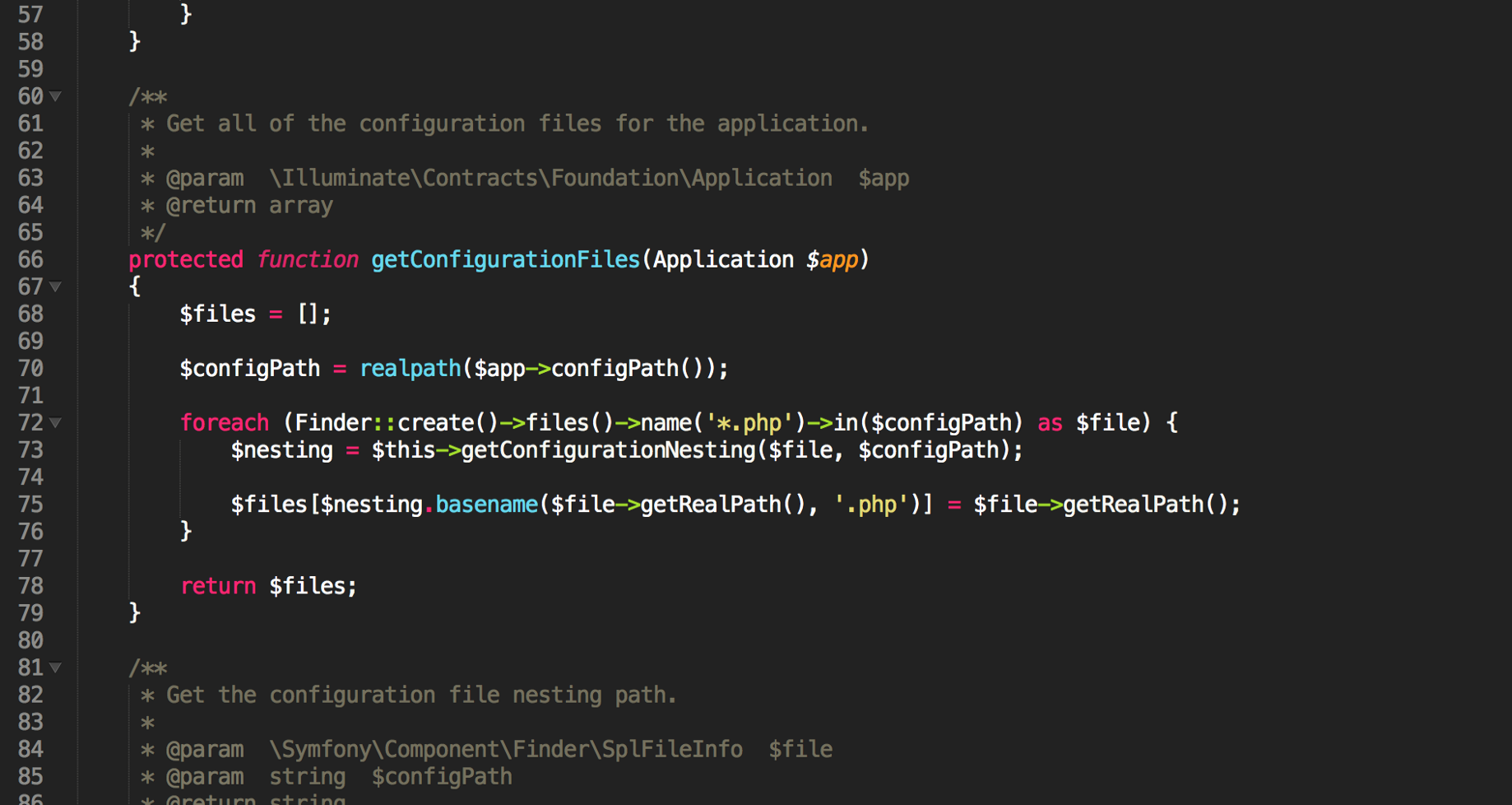 Don't use Laravel's config() inside config files - MAQE