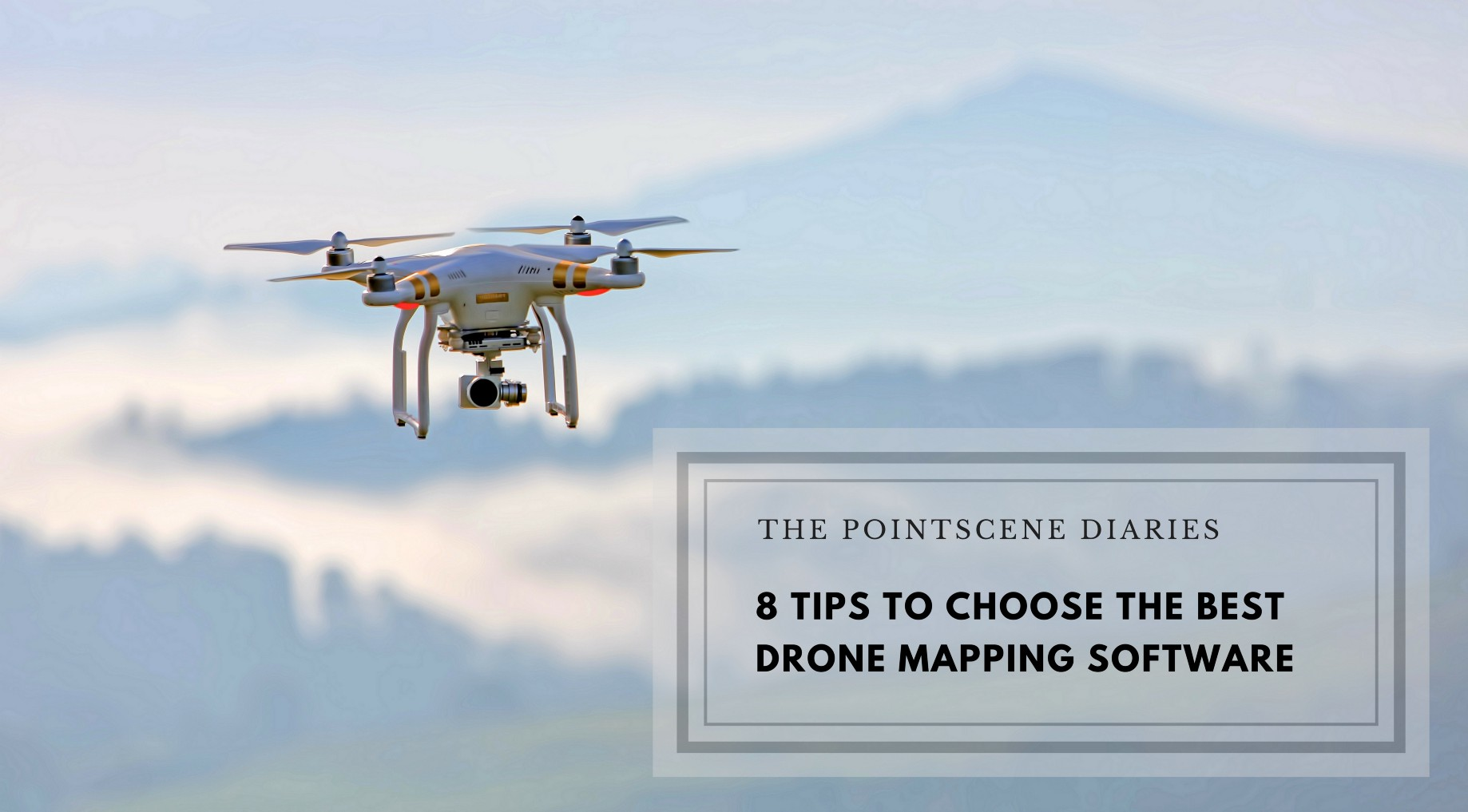 How to choose the best drone mapping software - The Pointscene