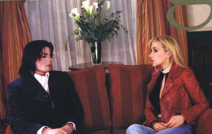 Michael Jackson in interview for gold magazine (12/20/2002)