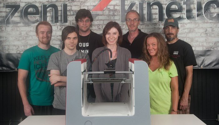 SLC-Based Zeni Kinetic Manufactures 3D Printer, Launches