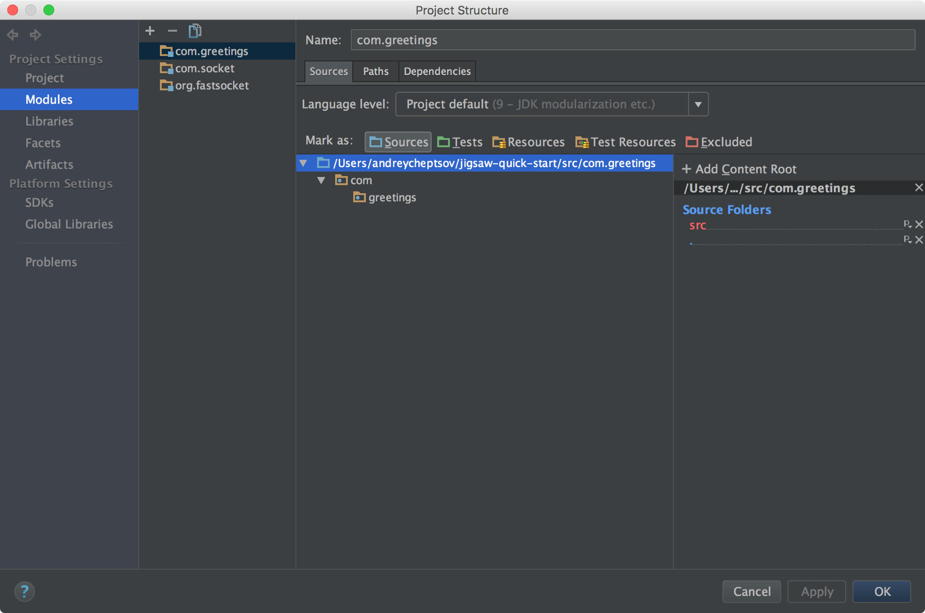 Using JDK 9 with Project Jigsaw in IntelliJ IDEA - Andrey Cheptsov