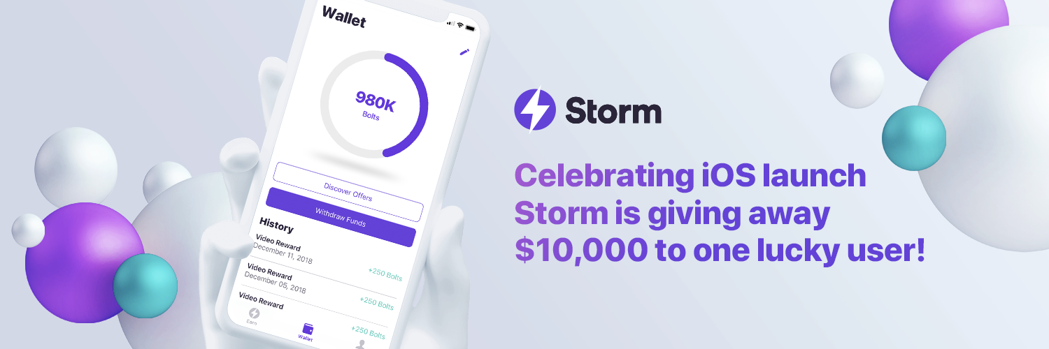 $10,000 Storm Play Campaign - The Storm