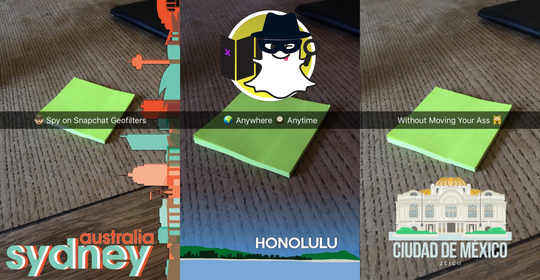 Change your Snapchat Location Without Jailbreak to Spy on Geofilters