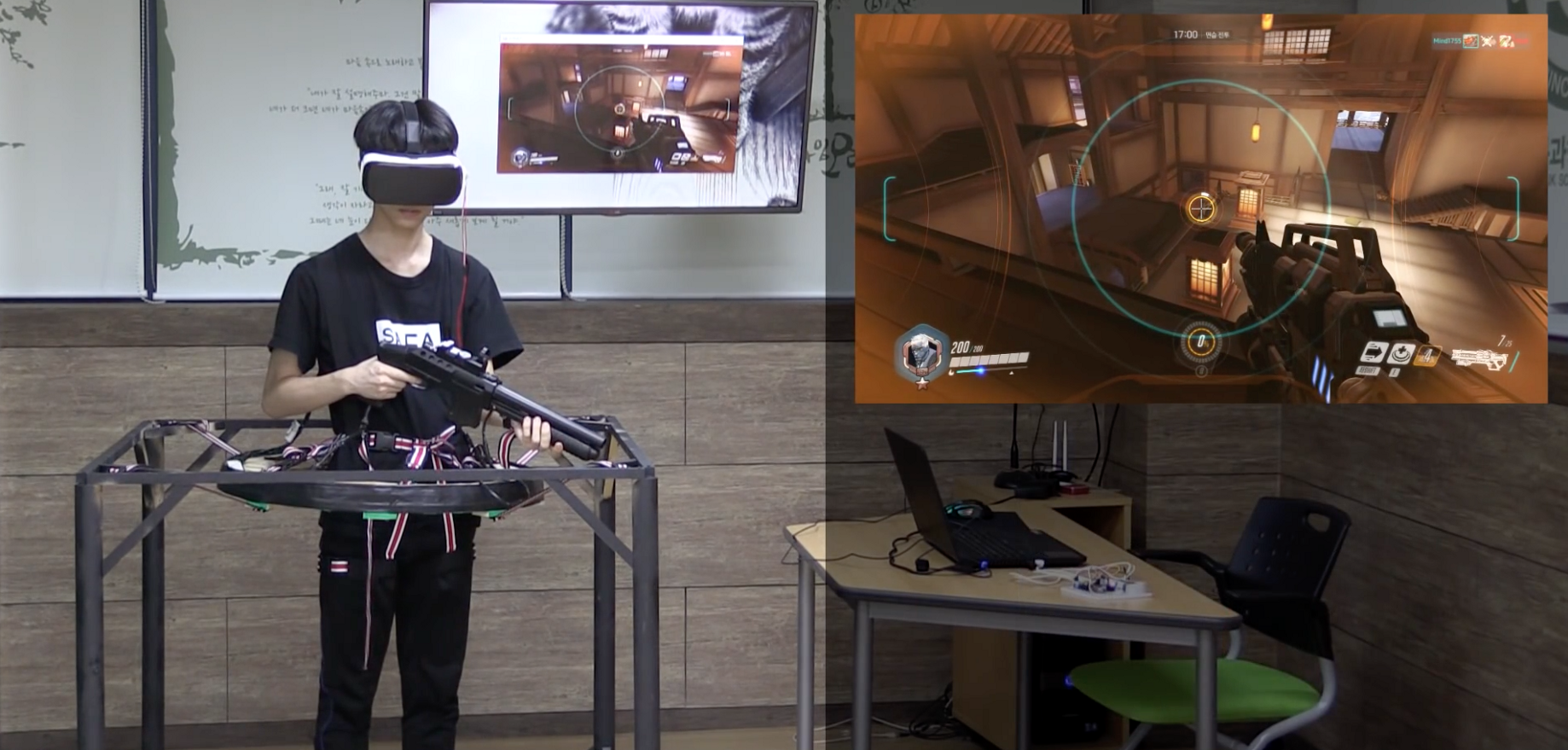 High School Students Build Their Own Rig to Play Overwatch in VR