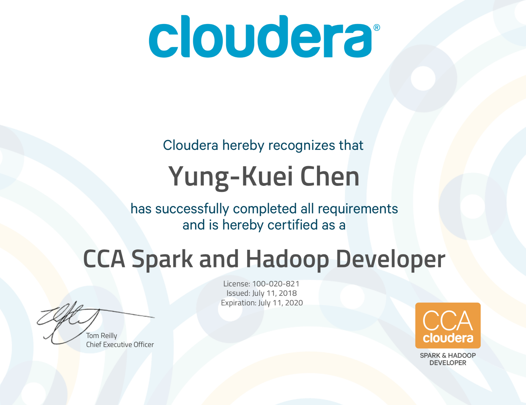 My Experience of getting Clouder CCA Spark and Hadoop Cerification