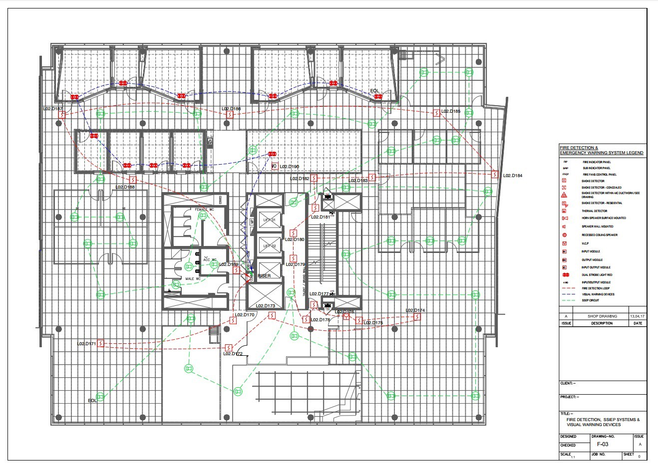 Fire Fighting System Design Calculations Services - Silicon