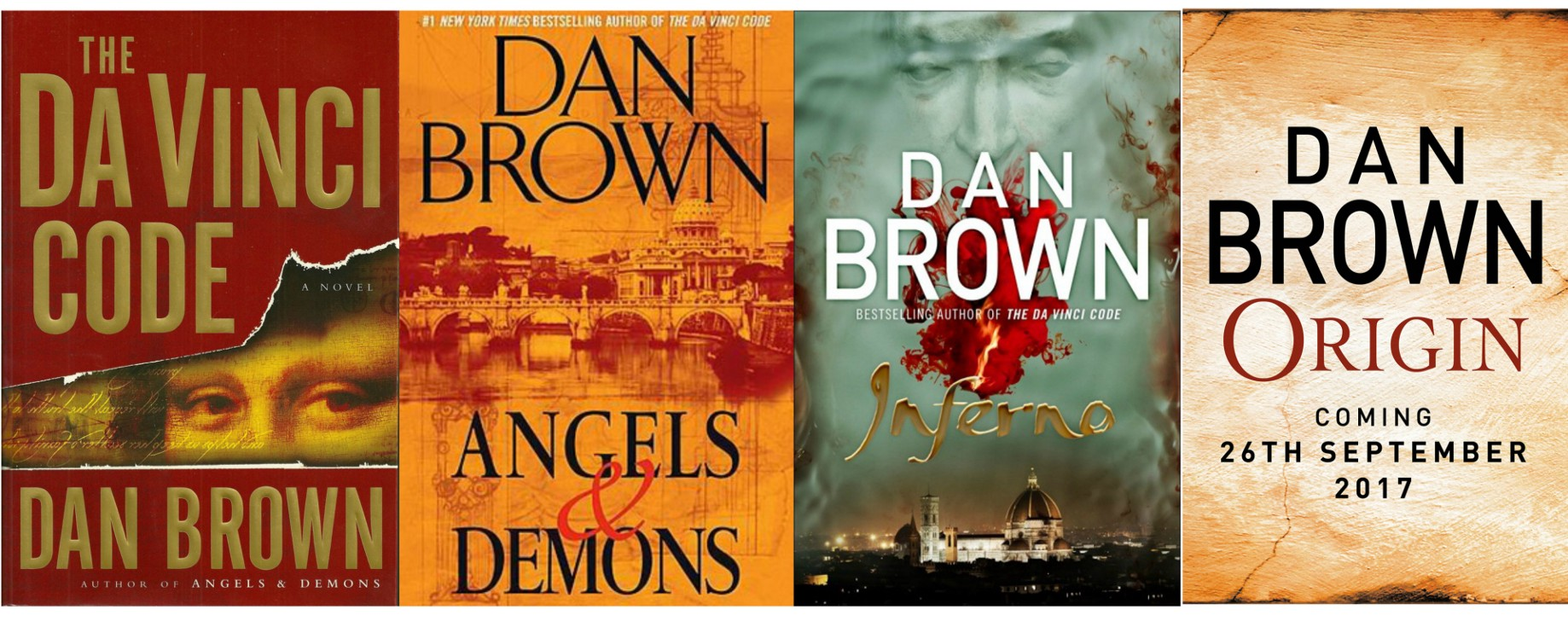 Dan Brown New book Origin set to release on September   by Maria ...