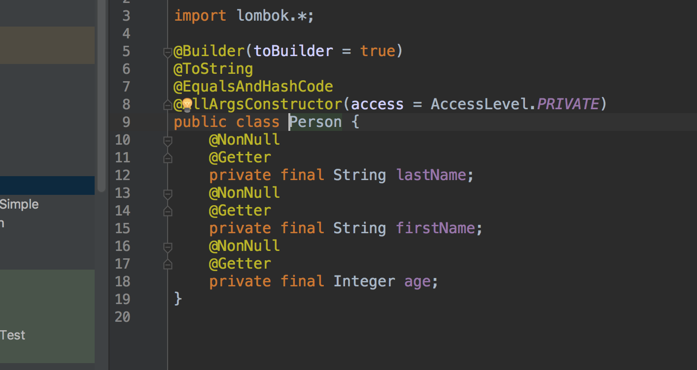 How to write less and better code, or Project Lombok