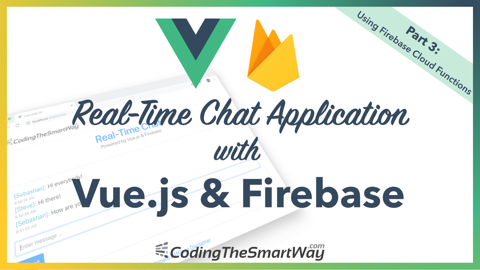 Building A Real-Time Chat Application With Vue js and Firebase — Part 3