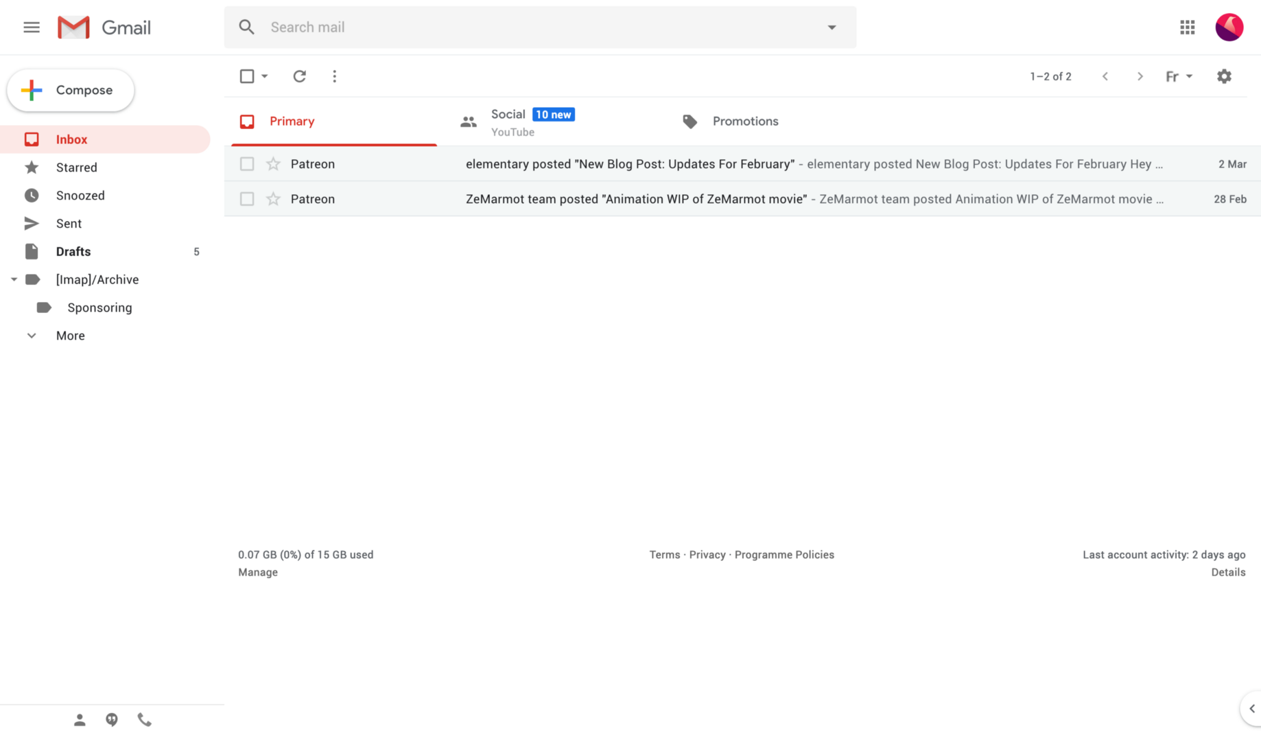 Quitting Gmail — a few secure interesting alternatives