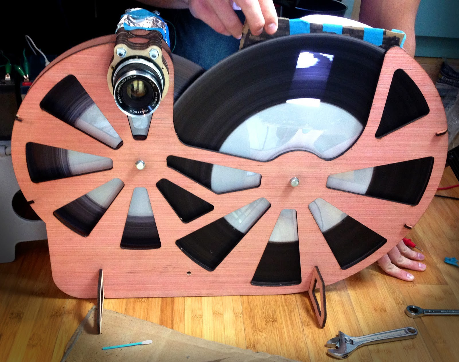 YouTuber Builds His Own Mechanical TV - Hackster Blog