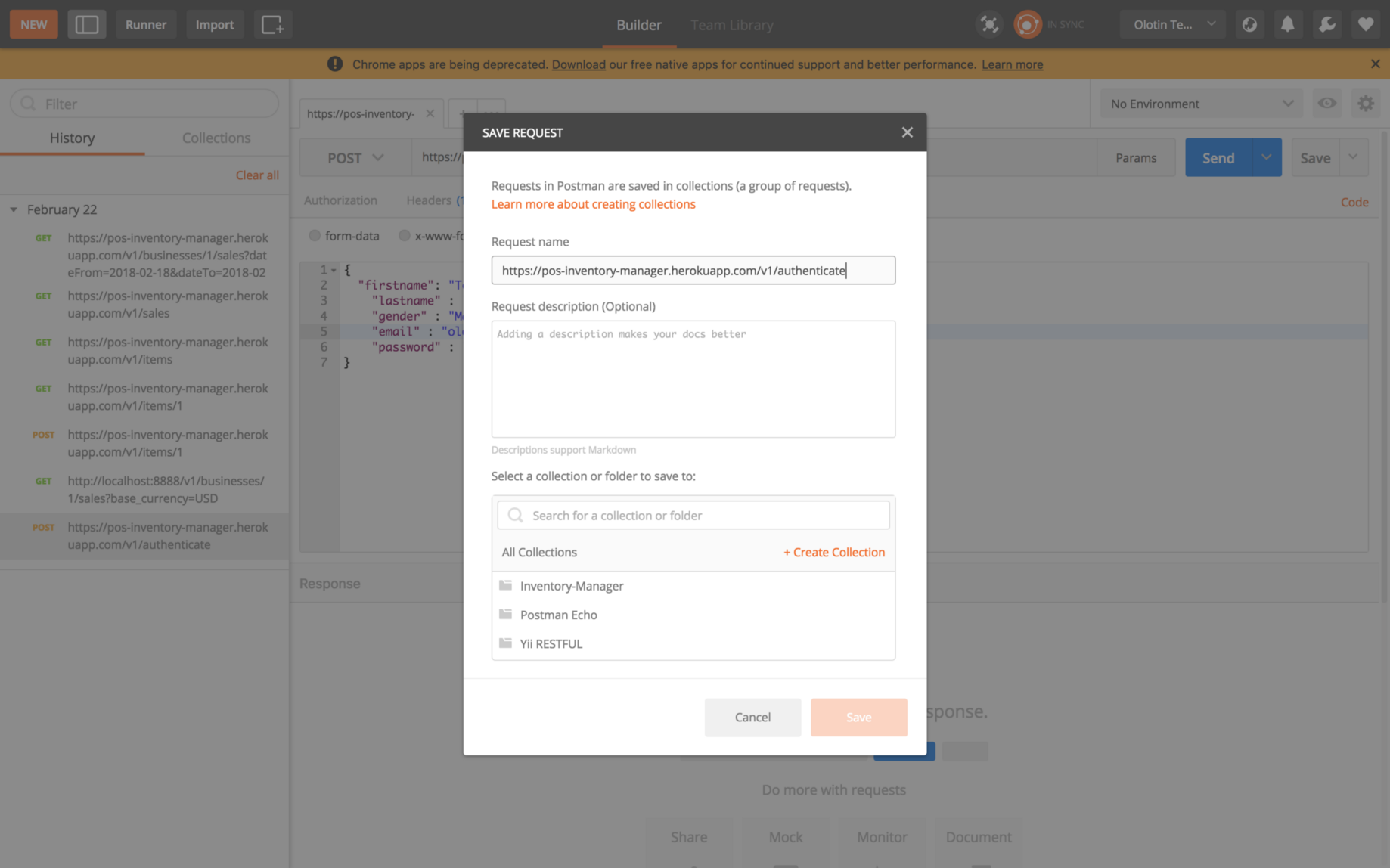 download postman without chrome