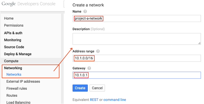 How to connect Google Cloud Platform networks via VPN