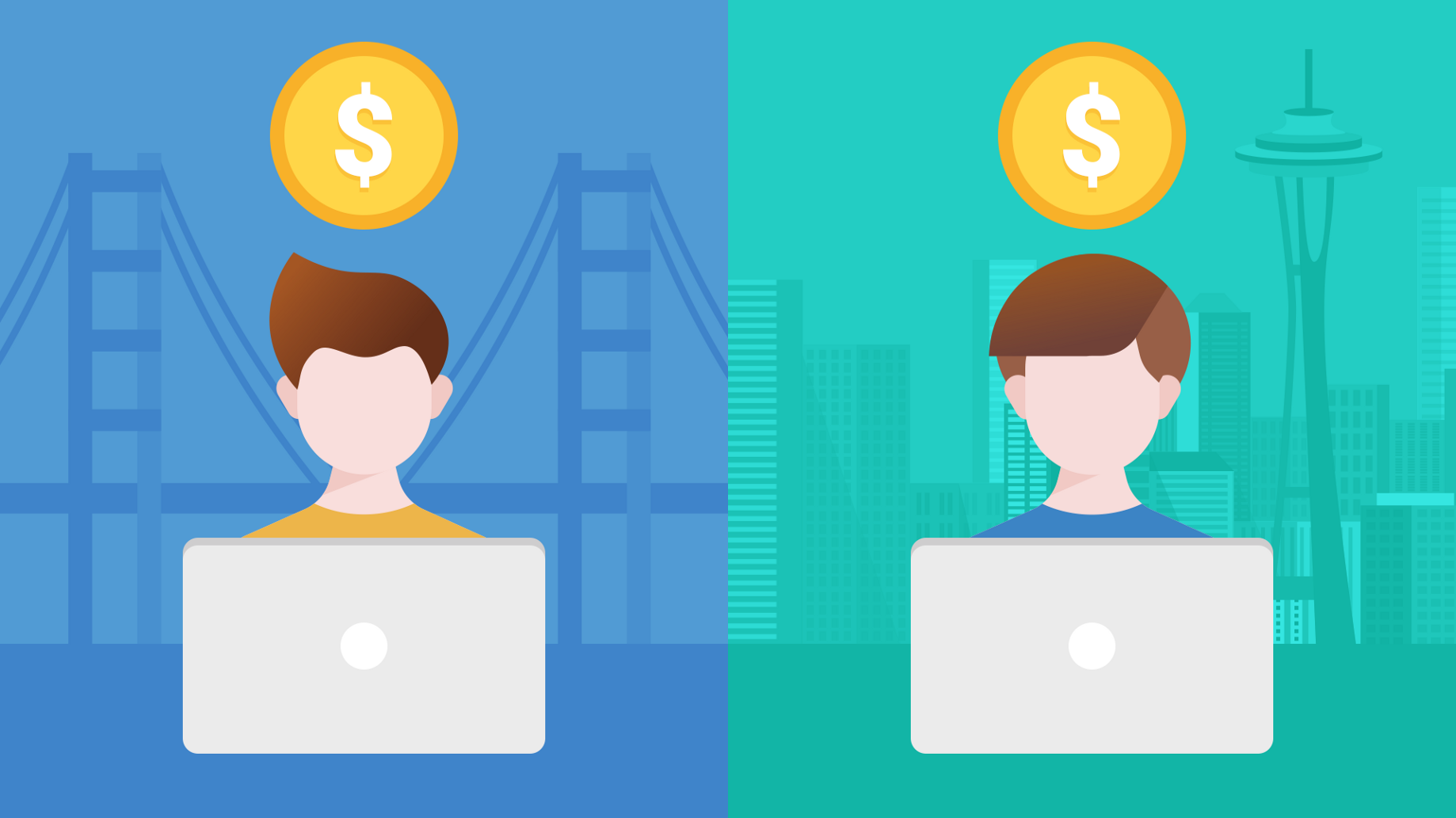 Compensation for Software Engineers: San Francisco vs  Seattle