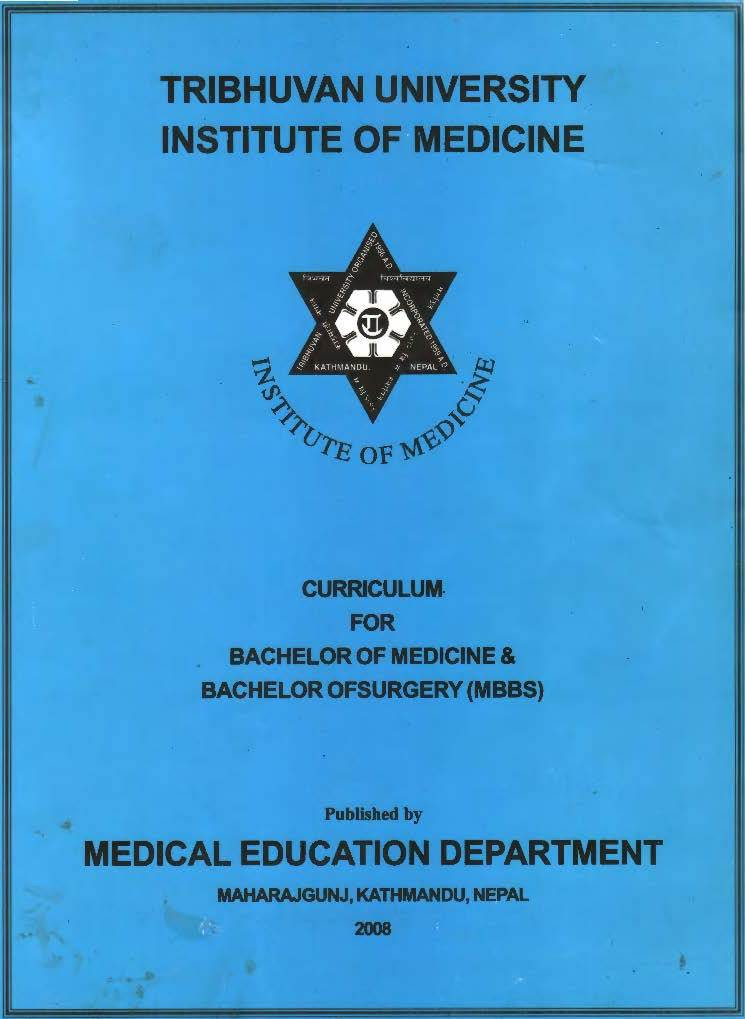 Tribhuvan University (TU) Institute of Medicine (IOM) Curriculum for