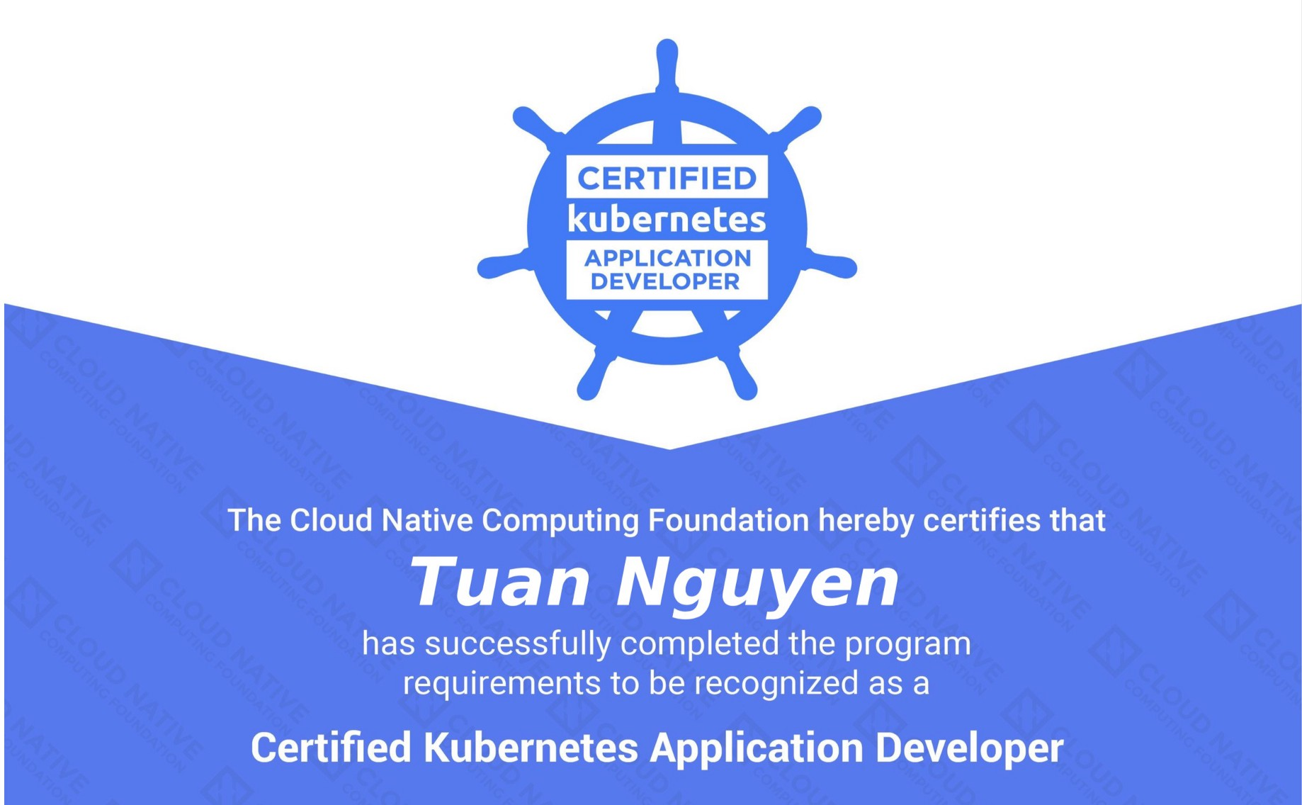 Certified Kubernetes Application Developer (CKAD) in a nutshell