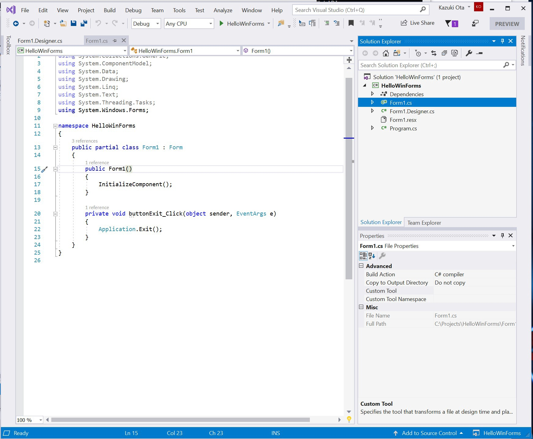 Prism Wpf Example