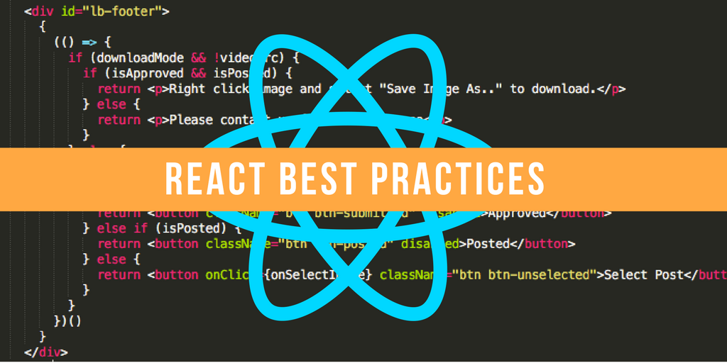 Our Best Practices for Writing React Components - Code == Life