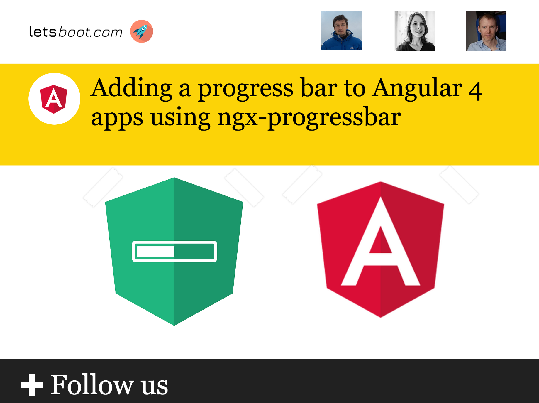 Let's add a progress bar to Angular 4 apps using ngx-progressbar