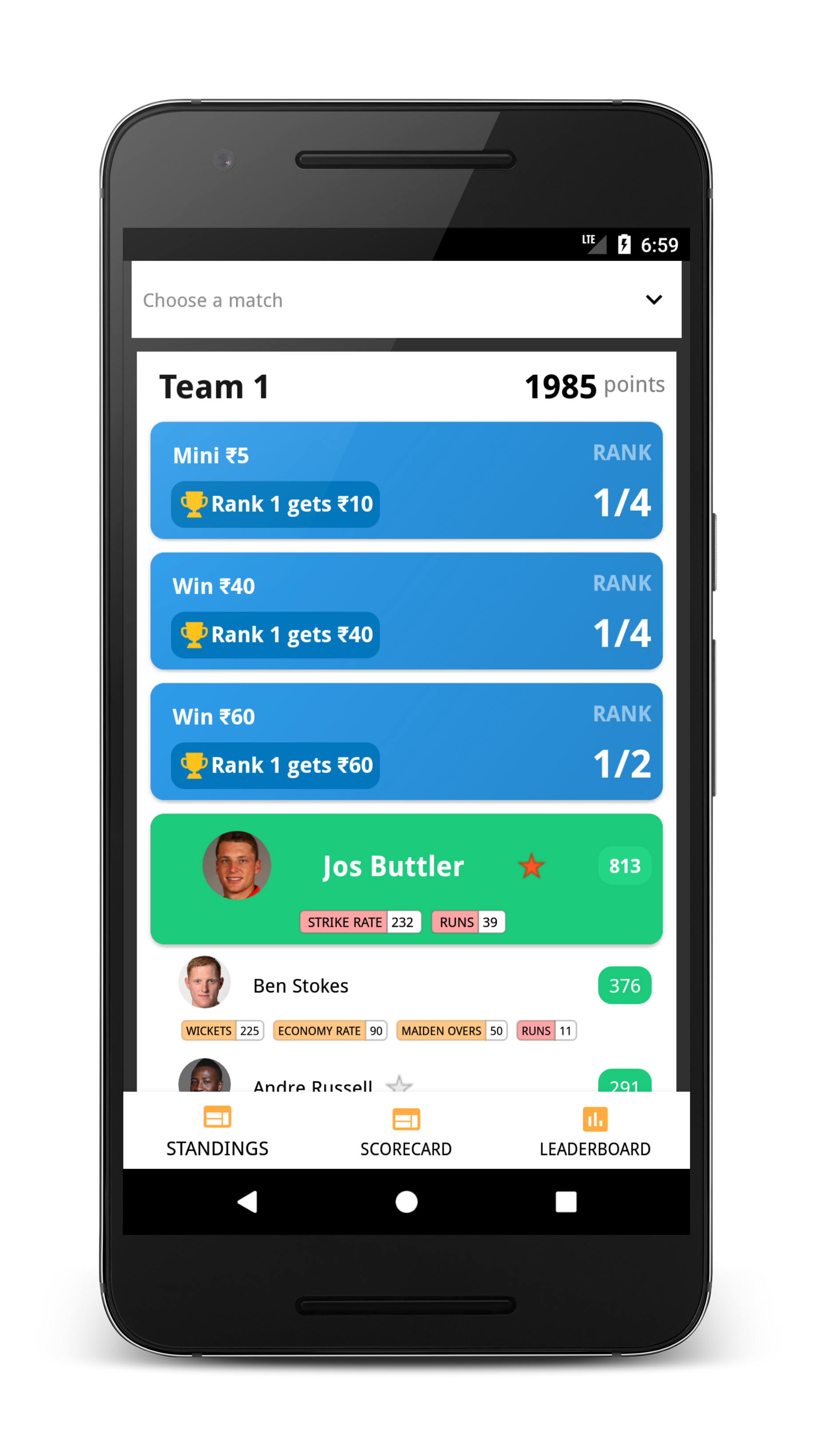 5 Tips to make easy money from Fantasy Cricket Apps