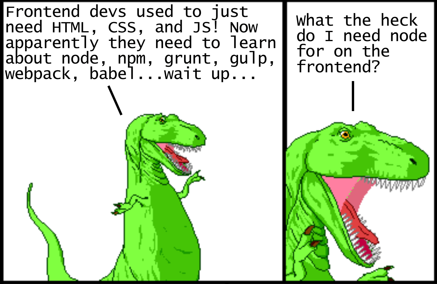 Modern JavaScript Explained For Dinosaurs - Node js Collection - Medium