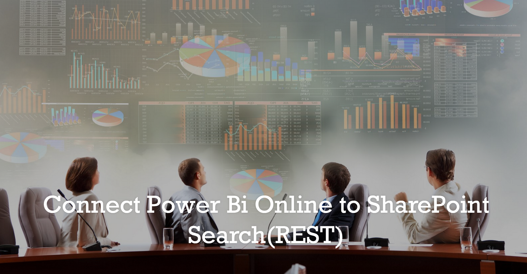 Connect Power Bi Online to SharePoint Search using REST