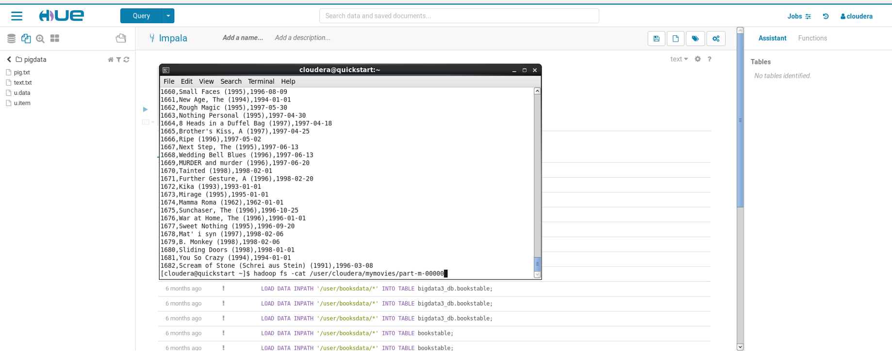 Importing data from Mysql into HDFS using Sqoop on Cloudera