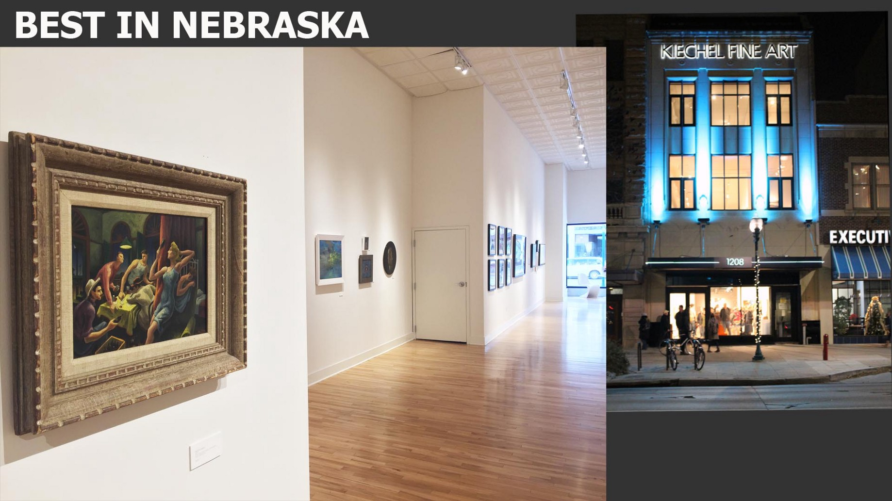 Kiechel Fine Art Named Best Gallery Or Museum In Nebraska By