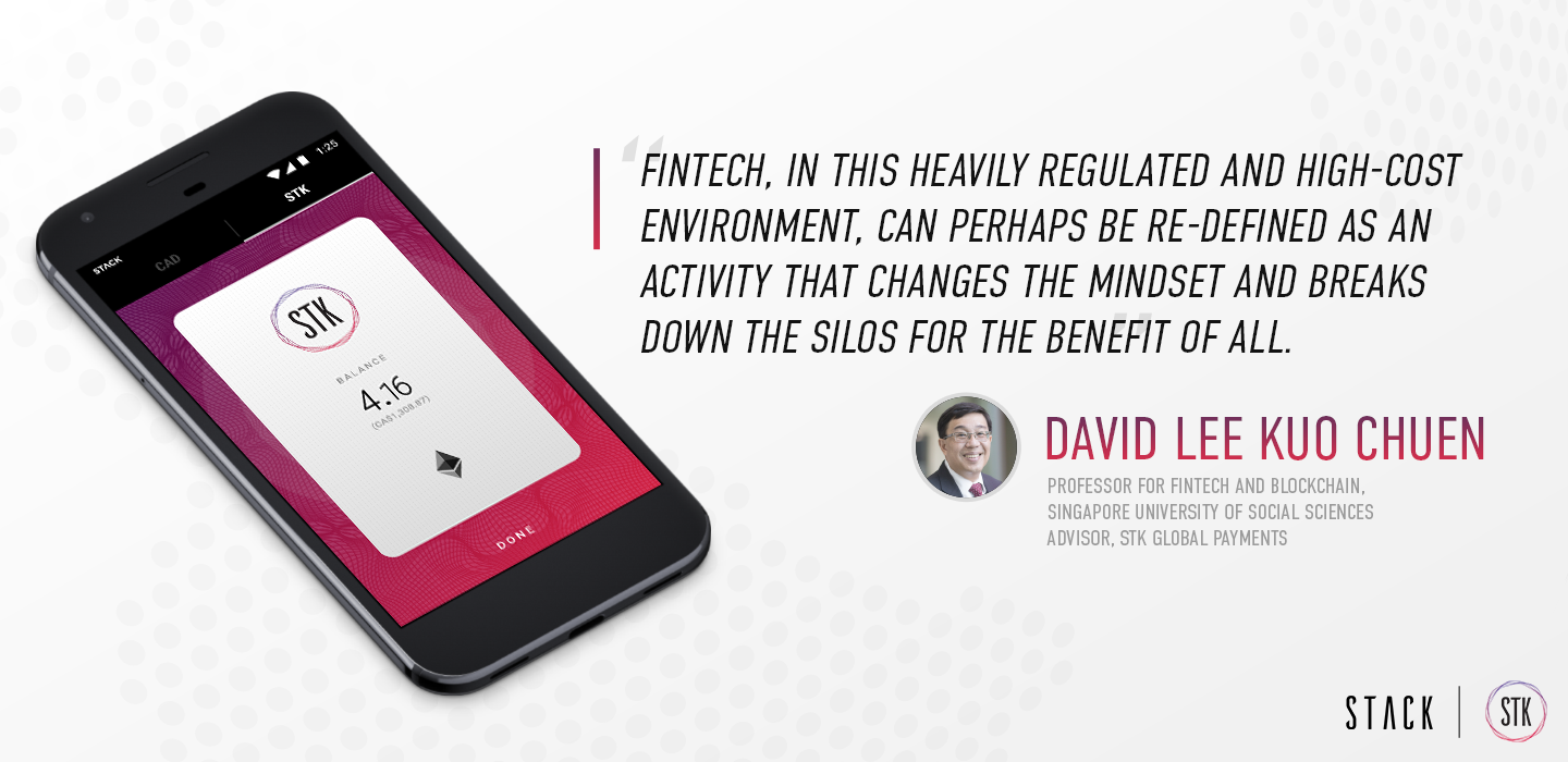 An interview with David LEE Kuo Chuen, Professor of FinTech and