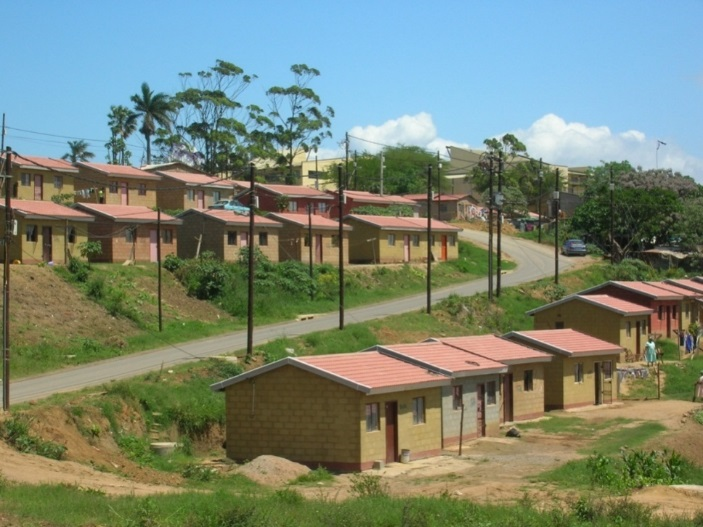 I feel like I'm a real man': Men and state housing in South Africa