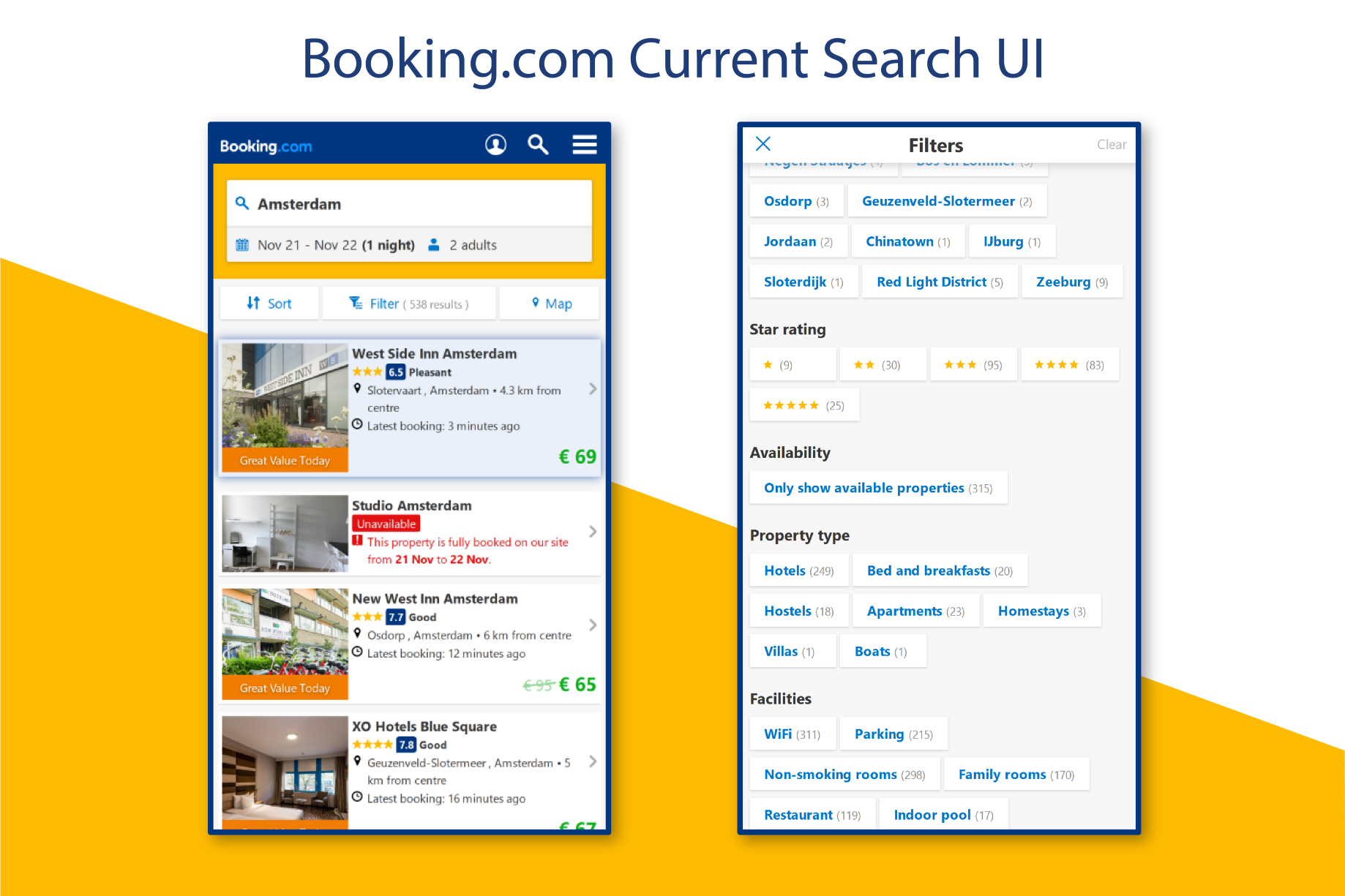 Can Booking com UX be better? A very simple step - NYC Design - Medium