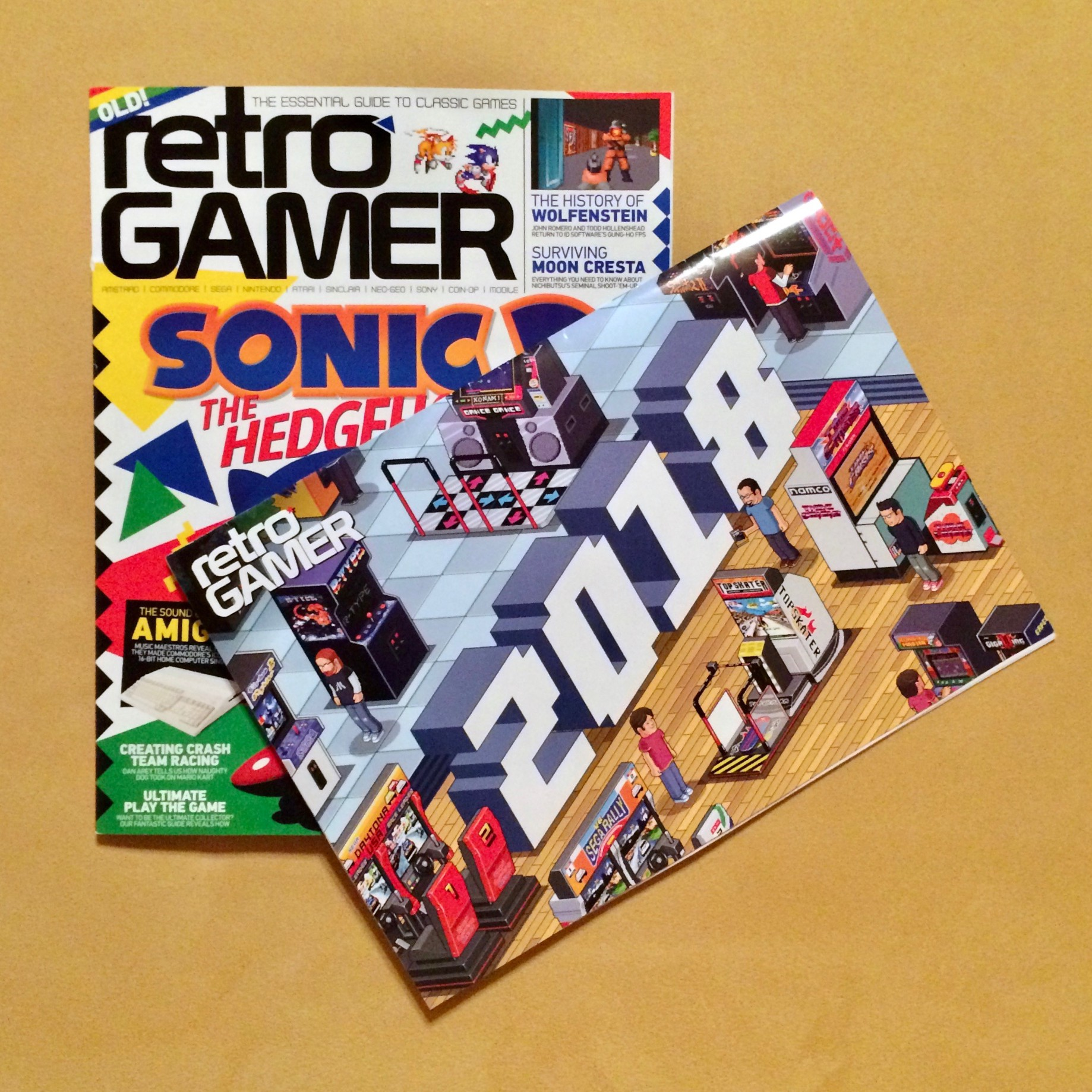 Retro Gamer 2018 Calendar - Retronator Magazine - Medium
