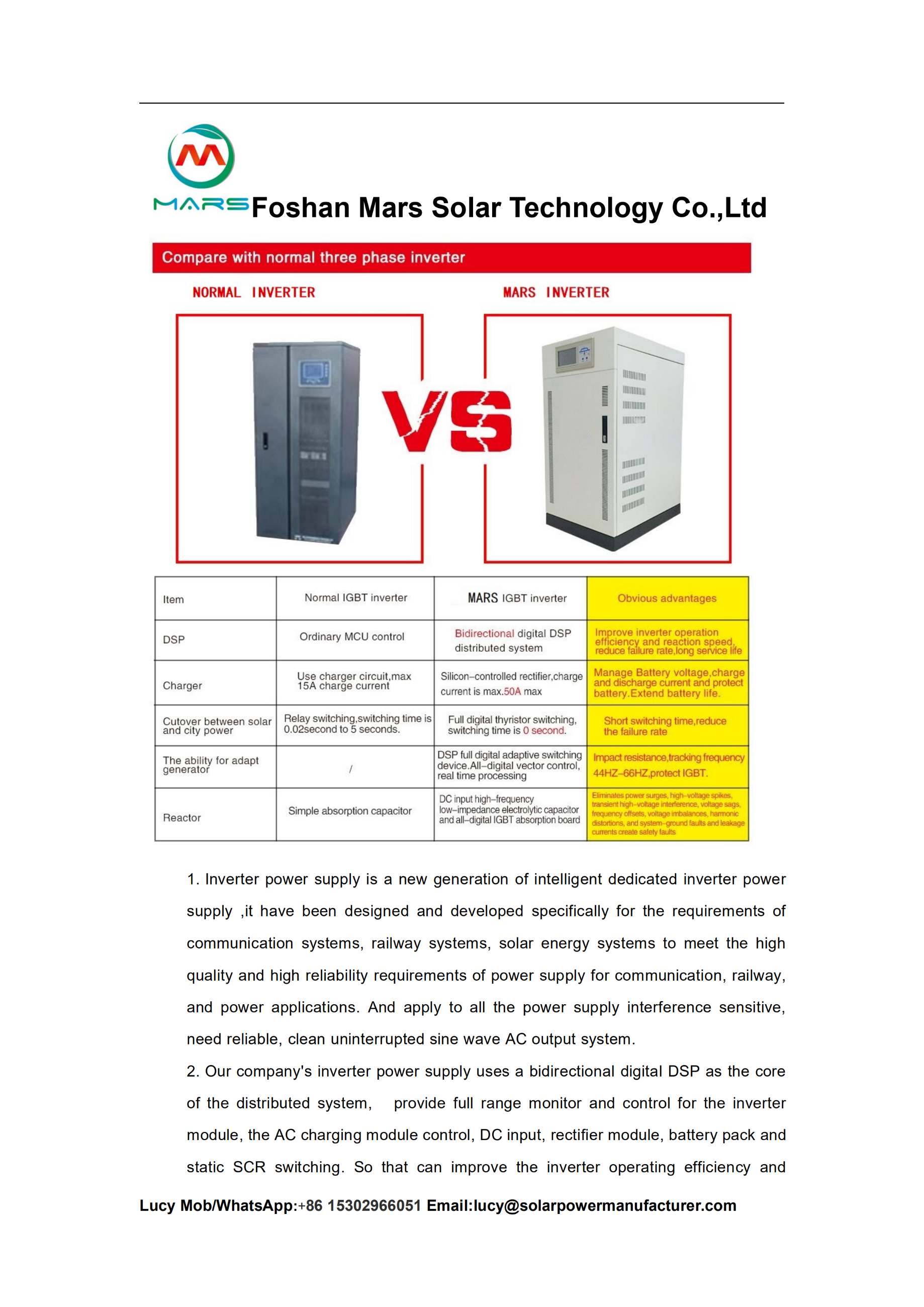 10KW residential solar systems in Mozambique - Mars Solar LED Street
