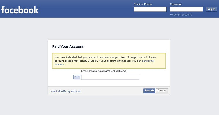 Do find where password on facebook i my Recover Facebook