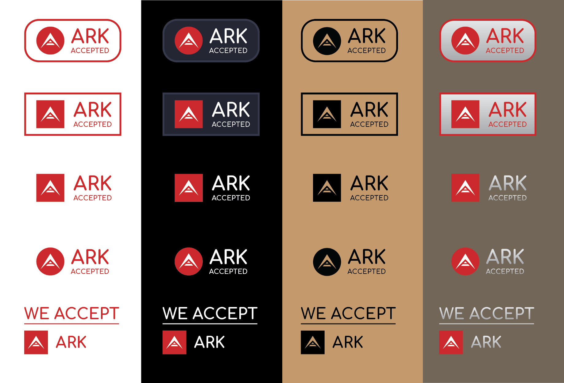 ARK Accepted buttons - Azure Infinity - Medium